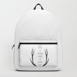 Hunt like a girl Backpack