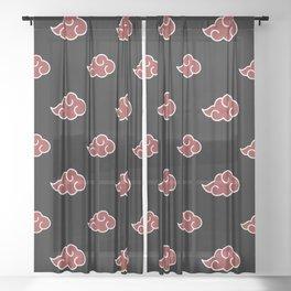 Akatsuki Clouds Sheer Curtain