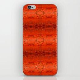 Rustic Furniture Orange Southwestern Geometric Barstool Counter Stool Corbin iPhone Skin