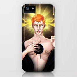 I guess God hates me iPhone Case