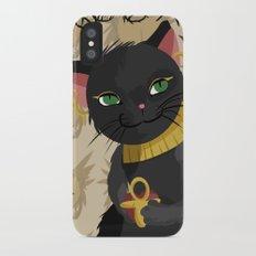 Bastet: Cat Goddess Slim Case iPhone X