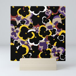 Pansy Love Mini Art Print