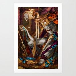 Weaver's Oddity Art Print
