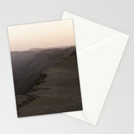 Edge of Ramon Crater Stationery Cards
