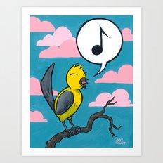 Songbird Art Print