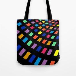 Colourful Square Tote Bag