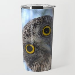 Australian Powerful Owl Travel Mug