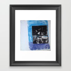 OSWALD/HALF TONE Framed Art Print