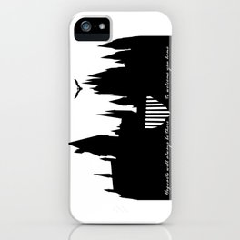 Hogwarts Is Our Home  iPhone Case