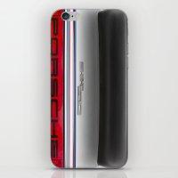 porsche iPhone & iPod Skins featuring Porsche 911   by David Pyatt
