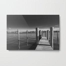 Dock Metal Print