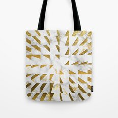 Marble and Gold Pattern #4 Tote Bag
