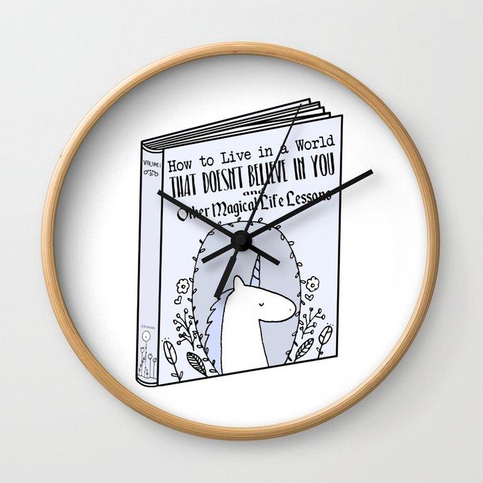 Magical Life Lessons Wall Clock