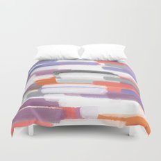 Painted Clay Duvet Cover