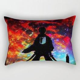 Attack On Titan nebula Rectangular Pillow