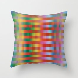 Fall/Winter 2016 Pantone Color Pattern Throw Pillow
