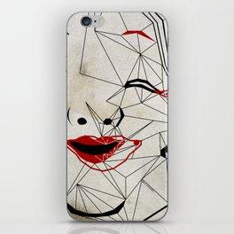 J_mask iPhone Skin