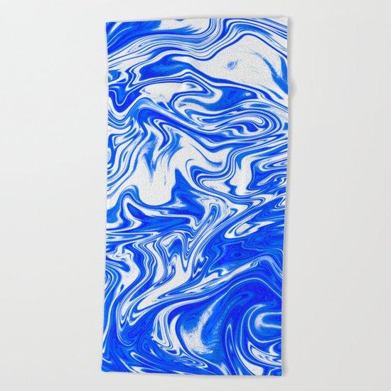 Marbled XX Beach Towel