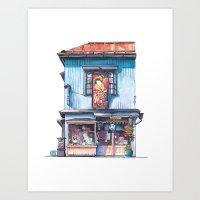 Tokyo Storefront #06 Art Print
