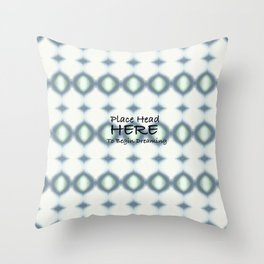 Safe Space for Dreaming Throw Pillow