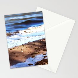 Waves Sand Stones Stationery Cards