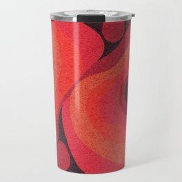 Danish Digital Flower Rug Travel Mug