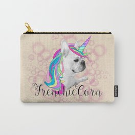 Frenchie Unicorn Carry-All Pouch