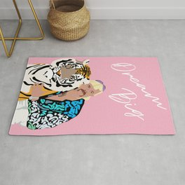 Dream Big Tiger Rug