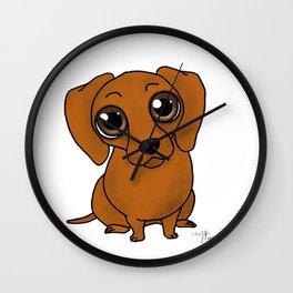 Dachshund Wiener Dog Wall Clock