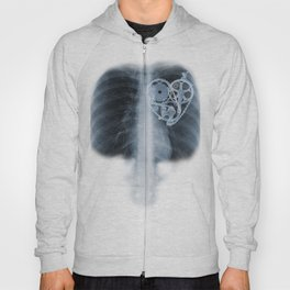 X Ray Bicycle heart components Hoody