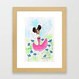 Tia Jump Framed Art Print