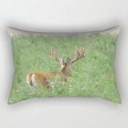Montana Whitetail Buck Rectangular Pillow