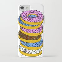 doughnut iPhone & iPod Cases featuring Doughnut by PSHAWWHO