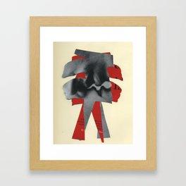 sort of but not really Framed Art Print