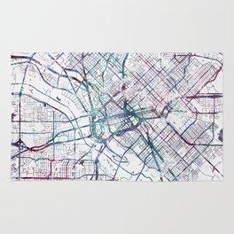 Dallas map Rug