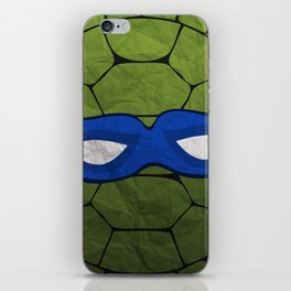 the blue turtle iPhone Skin