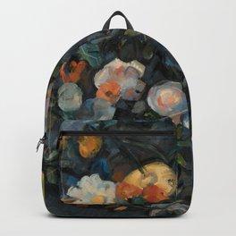 "Paul Cezanne ""Bouquet of flowers after Delacroix"" Backpack"