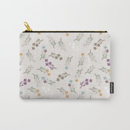 Tossed Wildflowers Carry-All Pouch