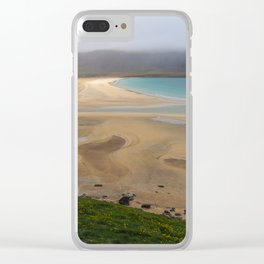 Unexpected Beach, Iceland Clear iPhone Case