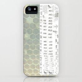 Stages of the Honey Bee iPhone Case