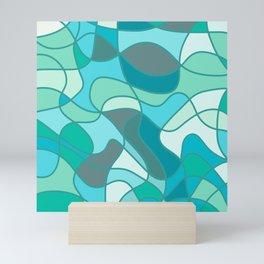 Water reflection 2 Mini Art Print