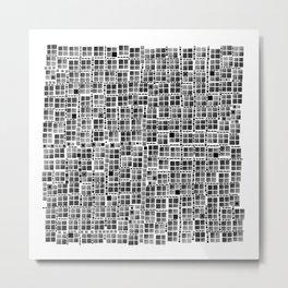 Pixel  Fashion 04 Metal Print