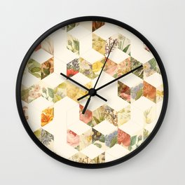 Keziah - Flowers Wall Clock
