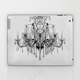 belle époque chandelier Laptop & iPad Skin