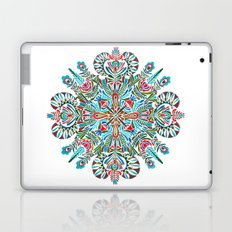The middle of the Earth mandala Laptop & iPad Skin
