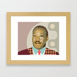 Martin Luther King  Framed Art Print