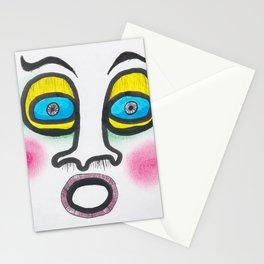 Blushing fool! Stationery Cards