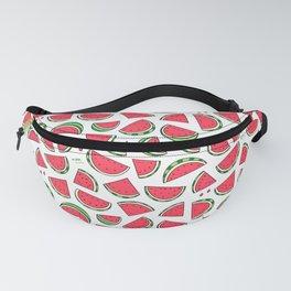 Watermelon World! Kawaii Watermelon Doodle Fanny Pack