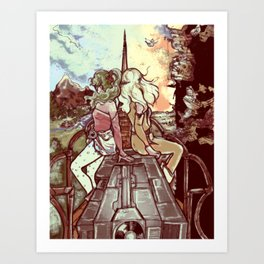 Look towards the Horizon Art Print