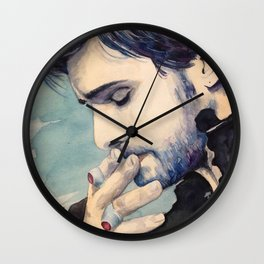 I Know How You Kiss Wall Clock